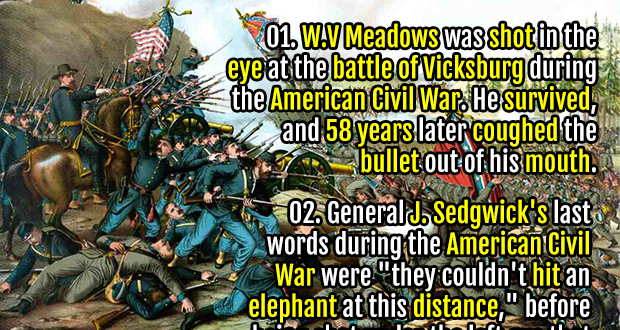 10 interesting civil war facts Fact 7: the civil war was at its height when the speech was made, and   address provides interesting facts and important information about.
