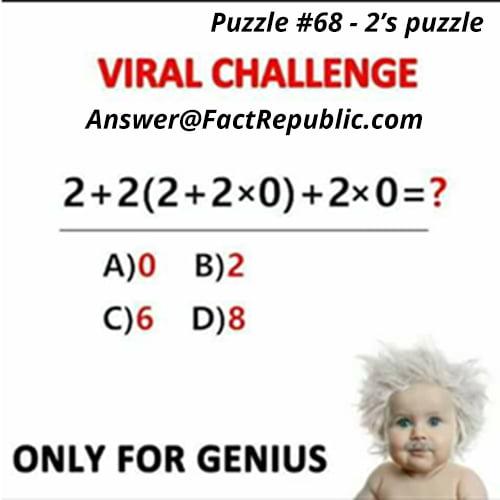 2's Puzzle