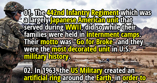46 Crazy Facts About The United States Military That Might Just Intrigue You